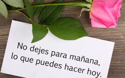 015- MAMÁ, NO DEJES PARA MAÑANA…