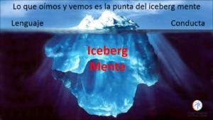 diapositiva icenberg mente